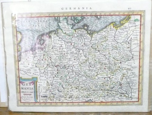 Germany by Mercator / Cloppenburgh